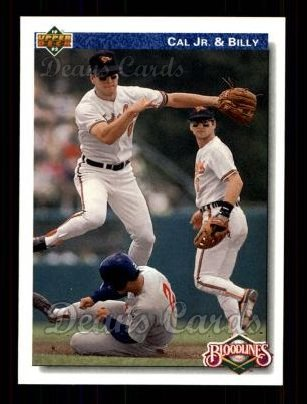 1992 Upper Deck #82  Ripken Brothers