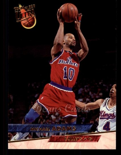 1993 Fleer Ultra #192  Michael Adams