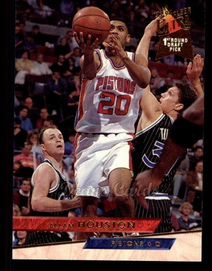 1993 Fleer Ultra #243  Allan Houston