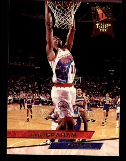 1993 Fleer Ultra #311  Greg Graham