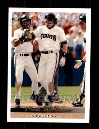 1993 Upper Deck #143  Matt Williams