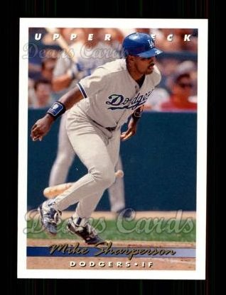 1993 Upper Deck #316  Mike Sharperson