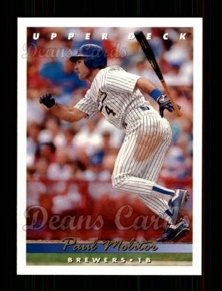 1993 Upper Deck #333  Paul Molitor