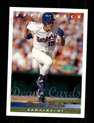 1993 Upper Deck #374  David Hulse