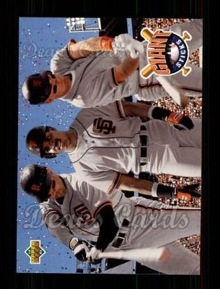1993 Upper Deck #476  Will Clark / Barry Bonds / Matt Williams