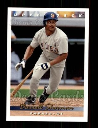 1993 Upper Deck #784  Darrell Sherman