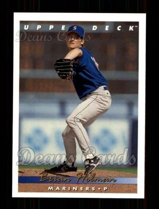 1993 Upper Deck #799  Brain Holman