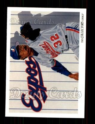 1993 Upper Deck #821   -  Dennis Martinez Montreal Expos Team