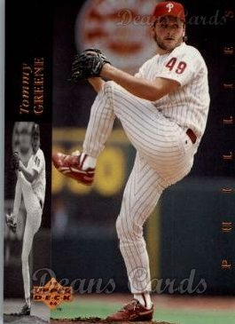 1994 Upper Deck #203  Tommy Greene