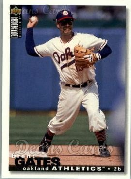 1995 Upper Deck Collector's Choice #124  Brent Gates