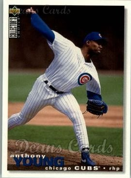 1995 Upper Deck Collector's Choice #201  Anthony Young