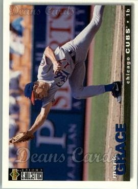 1995 Upper Deck Collector's Choice #205  Mark Grace
