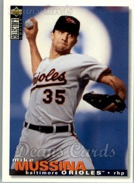 1995 Upper Deck Collector's Choice #340  Mike Mussina