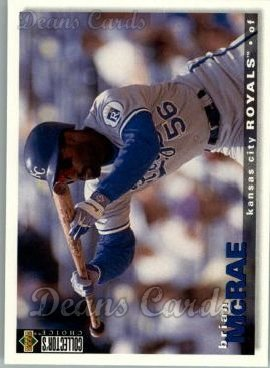 1995 Upper Deck Collector's Choice #460  Brian McRae