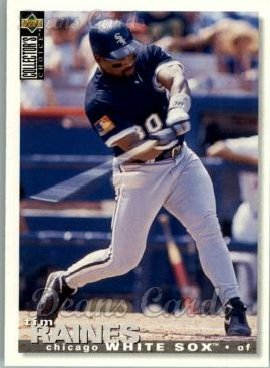 1995 Upper Deck Collector's Choice #495  Tim Raines