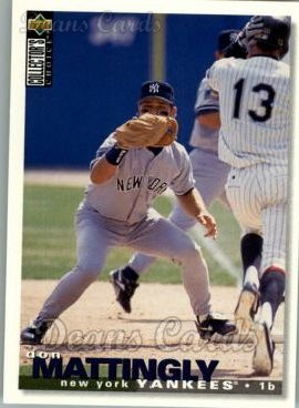 1995 Upper Deck Collector's Choice #510  Don Mattingly