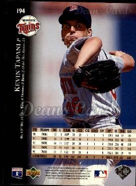 1995 Upper Deck #194  Kevin Tapani