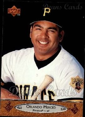 1996 Upper Deck #178  Orlando Merced