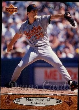 1996 Upper Deck #281  Mike Mussina