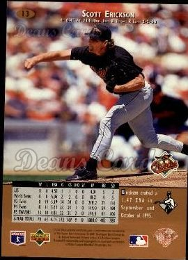 1996 Upper Deck #13  Scott Erickson