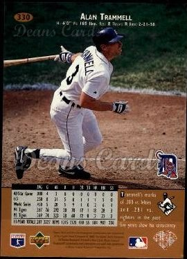 1996 Upper Deck #330  Alan Trammell