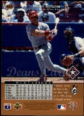 1996 Upper Deck #465  Mickey Tettleton