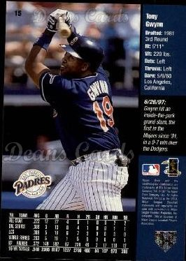 1998 Upper Deck #15   -  Tony Gwynn Griffey's Hot List