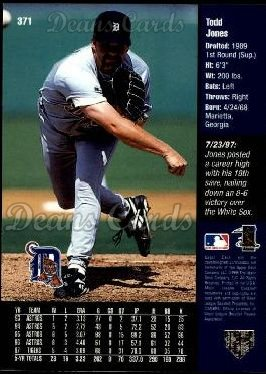 1998 Upper Deck #371  Todd Jones