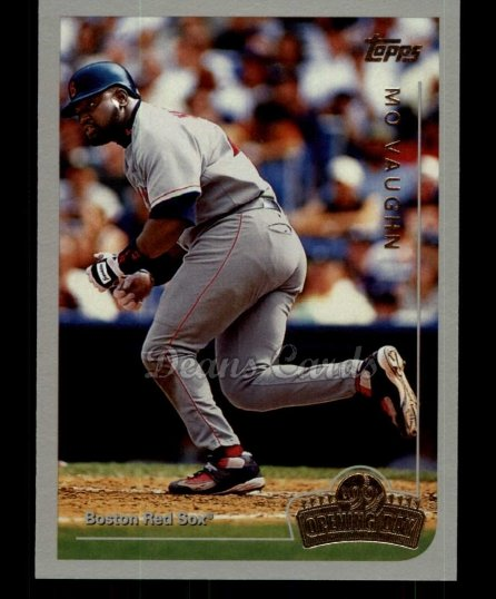 1999 Topps Opening Day #36  Mo Vaughn