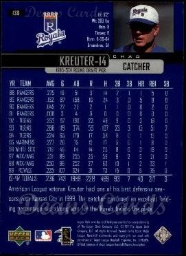 2000 Upper Deck #138  Chad Kreuter