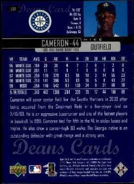 2000 Upper Deck #500  Mike Cameron