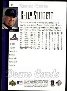 2001 Upper Deck #185  Kelly Stinnett