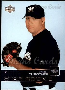 2003 Upper Deck #16   -  Jayson Durocher Star Rookie