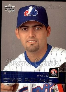2003 Upper Deck #512   -  Luis Ayala Star Rookie