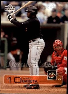 2003 Upper Deck #75  Tony Batista