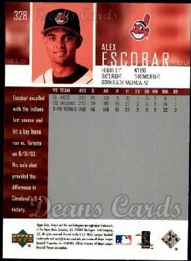 2004 Upper Deck #328  Alex Escobar
