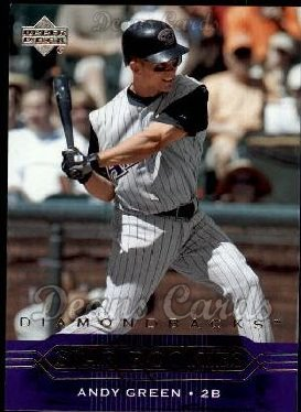 2005 Upper Deck #240   -  Andy Green Star Rookie