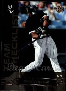 2005 Upper Deck #477   -  Frank Thomas Chicago White Sox Team