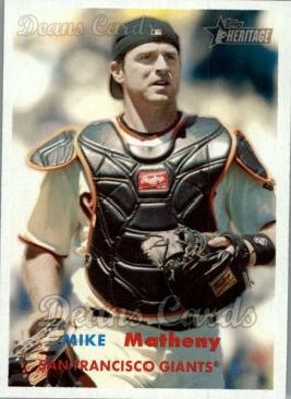 2006 Topps Heritage #235  Mike Matheny