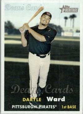 2006 Topps Heritage #3  Daryle Ward