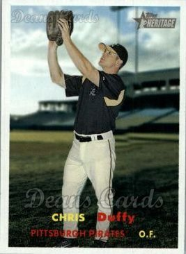 2006 Topps Heritage #444  Chris Duffy