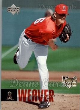 2006 Upper Deck #1000  Jered Weaver