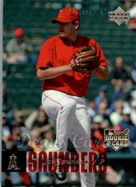 2006 Upper Deck #1096  Joe Saunders