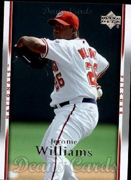 2007 Upper Deck #1014  Jerome Williams