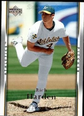 2007 Upper Deck #187  Rich Harden