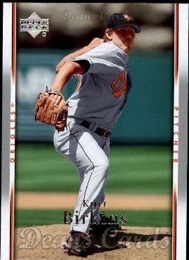 2007 Upper Deck #570  Kurt Birkins