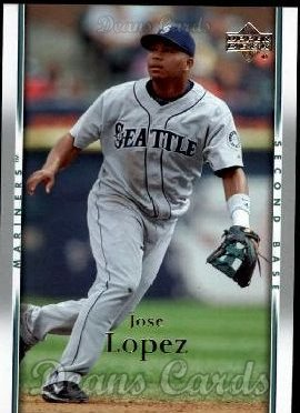 2007 Upper Deck #938  Jose Lopez
