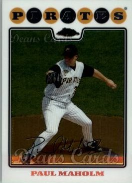 2008 Topps Chrome #186  Paul Maholm