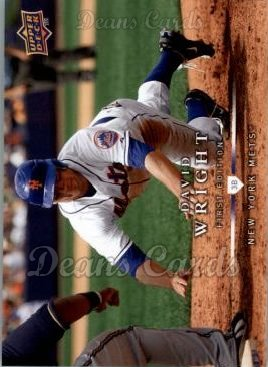 2008 Upper Deck First Edition #128  David Wright