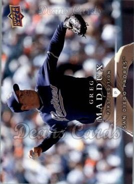 2008 Upper Deck First Edition #151  Greg Maddux